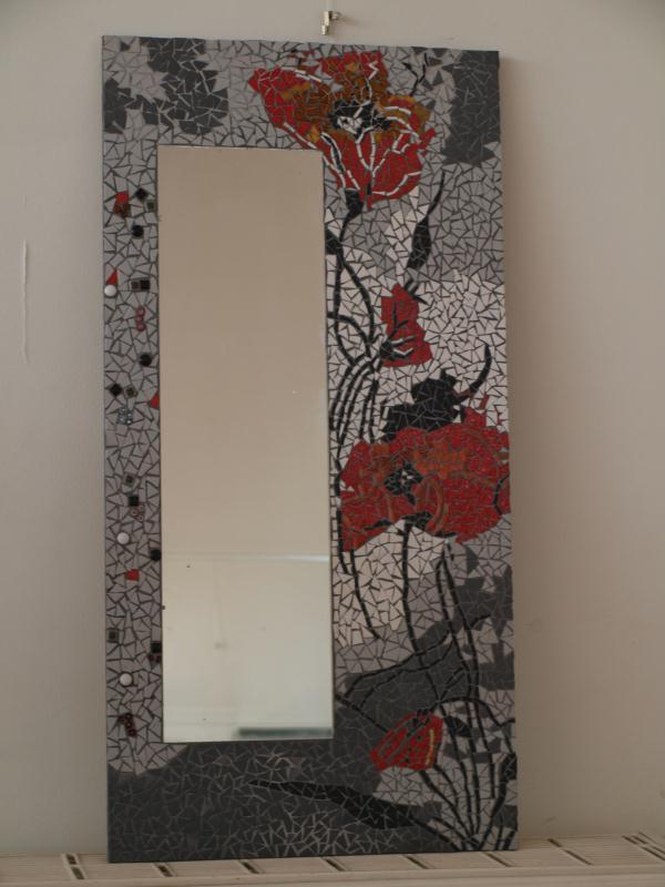 Le miroir aux coquelicots cr ations mosa que de icia n for Le miroir aux espions