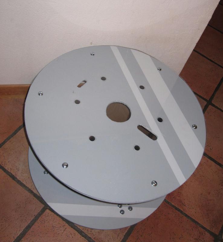 Table basse r cup d 39 une bobine de chantier cr ations - Table basse bobine ...