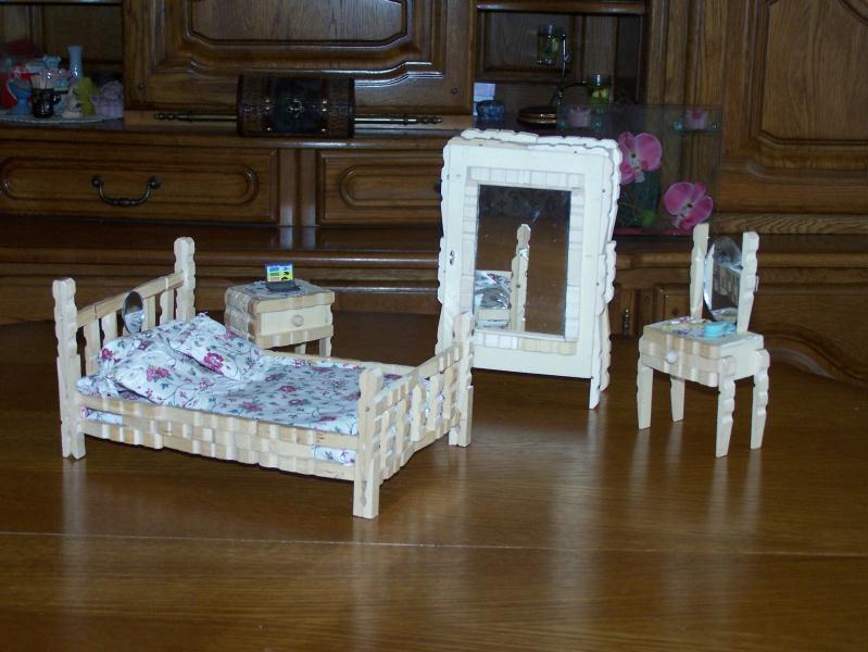 Chambre coucher avec armoire en pingle linge - Epingle a linge ...