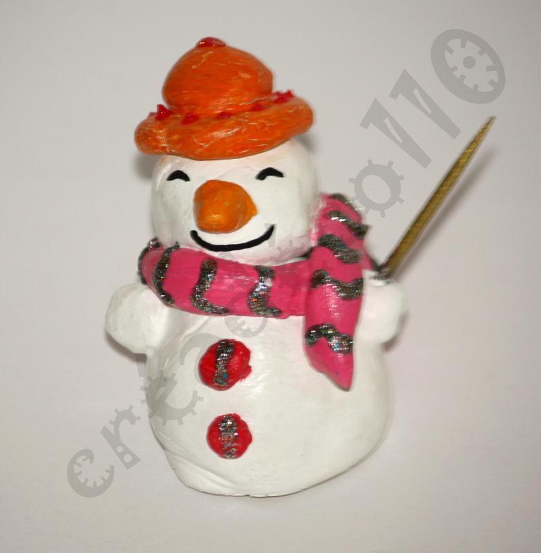 bonhomme de neige porte nom de table original en p 226 te 224 sel cr 233 ations d 233 coration de f 234 tes de
