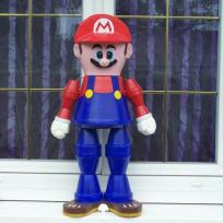 super mario en pot de terre
