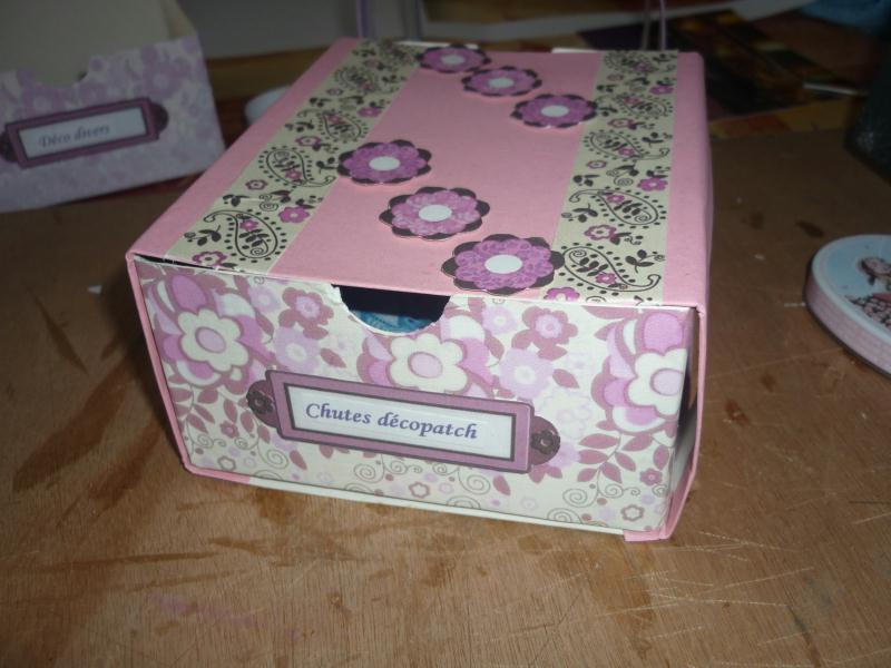 Mod le boite en carton pour petits rangements - Decoration boite en carton ...