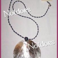 Cration collier coquillage nacr - Brunei
