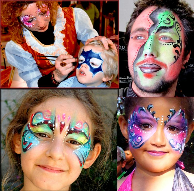 r alisation maquillage artistique pour enfants et adultes cr ations maquillage et d guisements. Black Bedroom Furniture Sets. Home Design Ideas