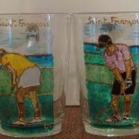Création de mugs du golf internationnal de Saint-François