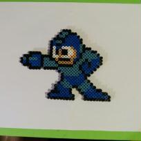 Pixel Art, Bead Sprites  Mgaman