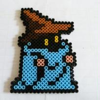 Pixel Art, Bead Sprites  Black Mage