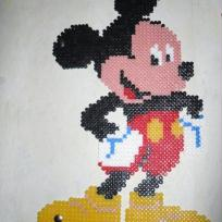 Cration Mickey en perle  repasser