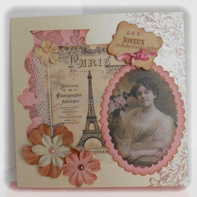 Préférence Une carte vintage pour un anniversaire branché ! - Carte anniversaire QN31