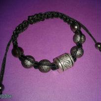 Cration Shamballa noir et gris les miraldises