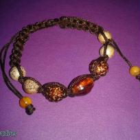 Shamballa marron les miraldises