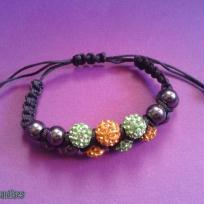Bracelet shamballa double les miraldises