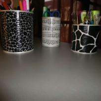 Conserves recycls en pot  stylos