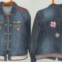 Customisation d'une veste en jean