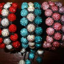 Cration bracelets shamballa triples