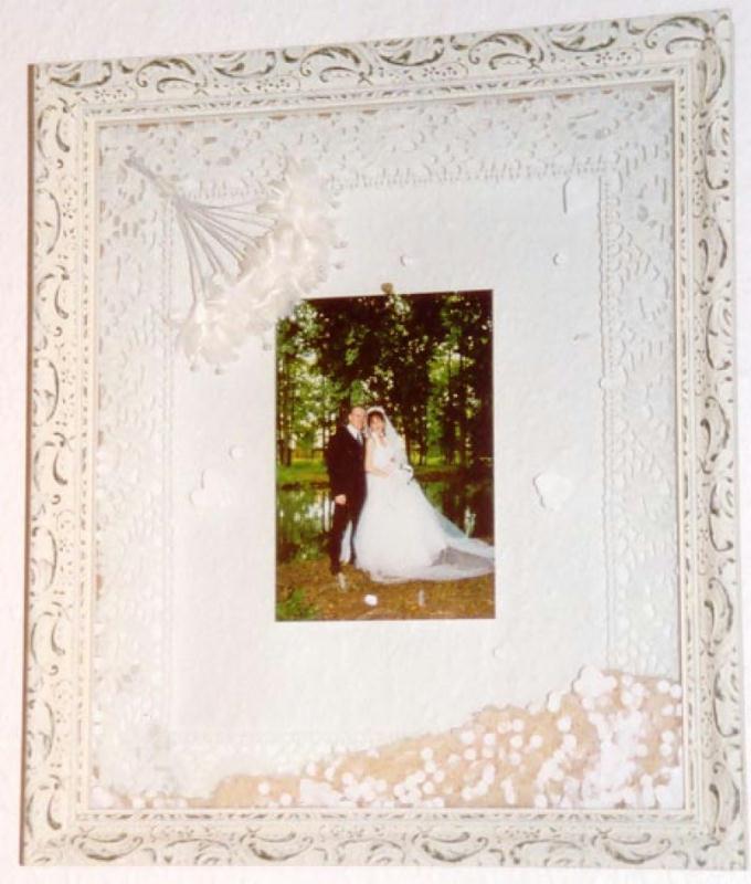mariage cr ations encadrement de negia n 6948 vue 3453 fois. Black Bedroom Furniture Sets. Home Design Ideas