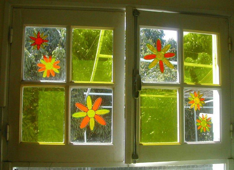 Fenetre fleurie cr ations windows color de catou81 n for Fenetre windows outils